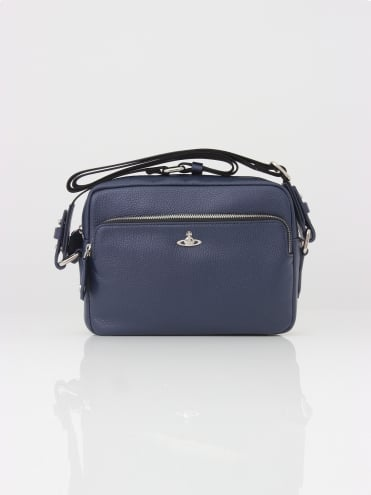 Vivienne Westwood Anglomania Milano Crossbody Bag - Blue
