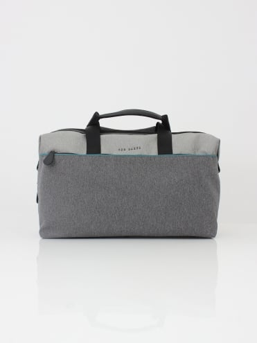 Ted Baker Cheetz Core Nylon Holdall - Grey