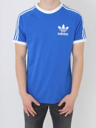 adidas Originals CLFN T Shirt - Blue
