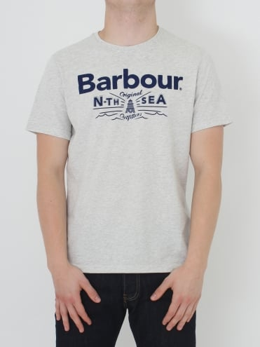 Barbour Cove T Shirt - Beige