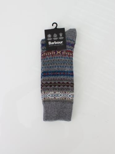 Barbour Boyd Socks - Grey