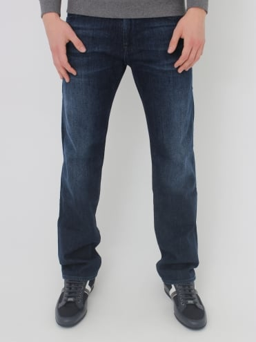 - BOSS Green C-Maine 1 Regular Fit Jeans - Dark Denim