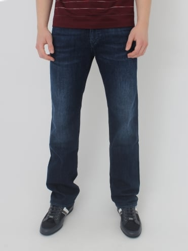 - BOSS Green C Kansas Regular Fit Jeans - Navy