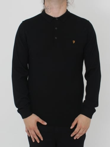 Farah Maidwell Knit - Black