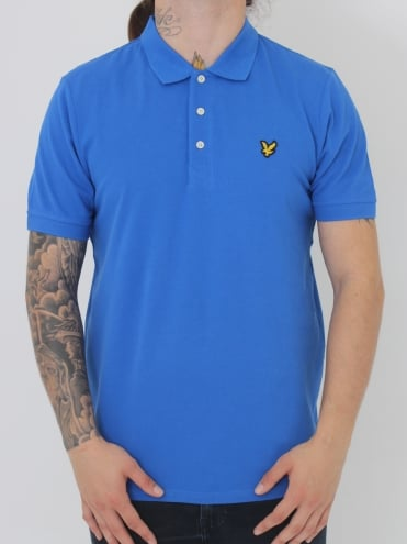 Lyle and Scott Polo Shirt - Blue