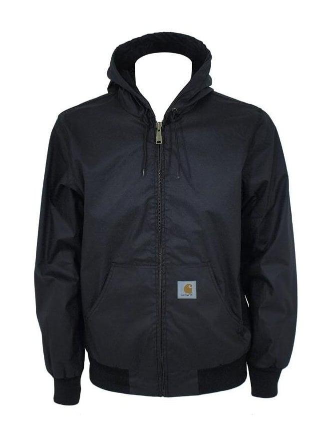 Carhartt - Carhartt 'Active' Hooded Jacket - Black ...