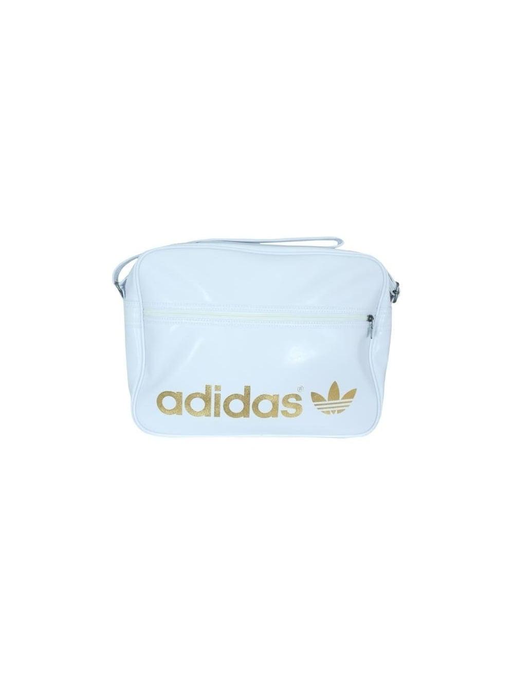 Mens adidas Originals Adidas Airline Bag -White  6afe1dcc6498f