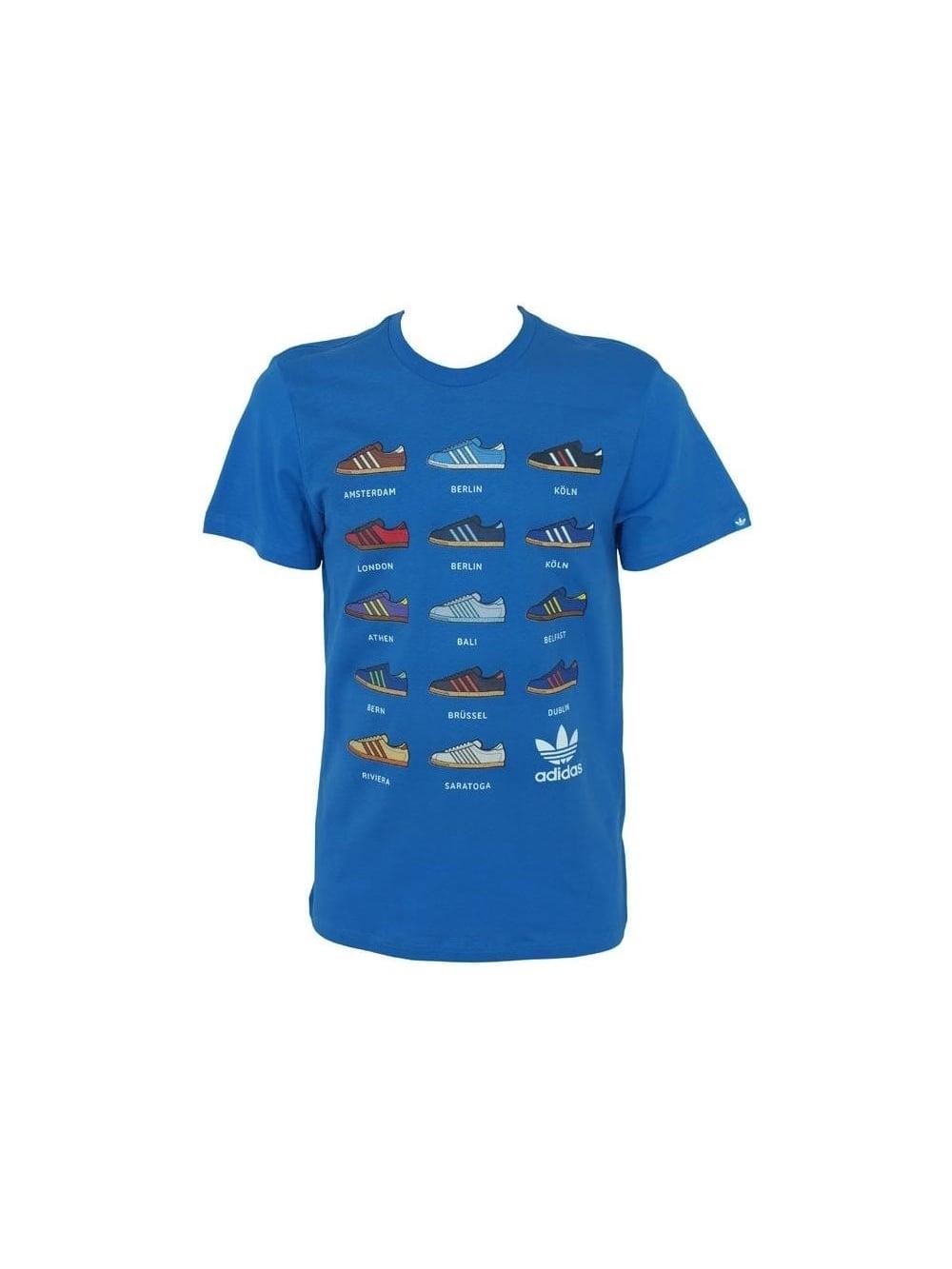Sneaker Blue T Melange G shirt 14 MjLzVpGSUq