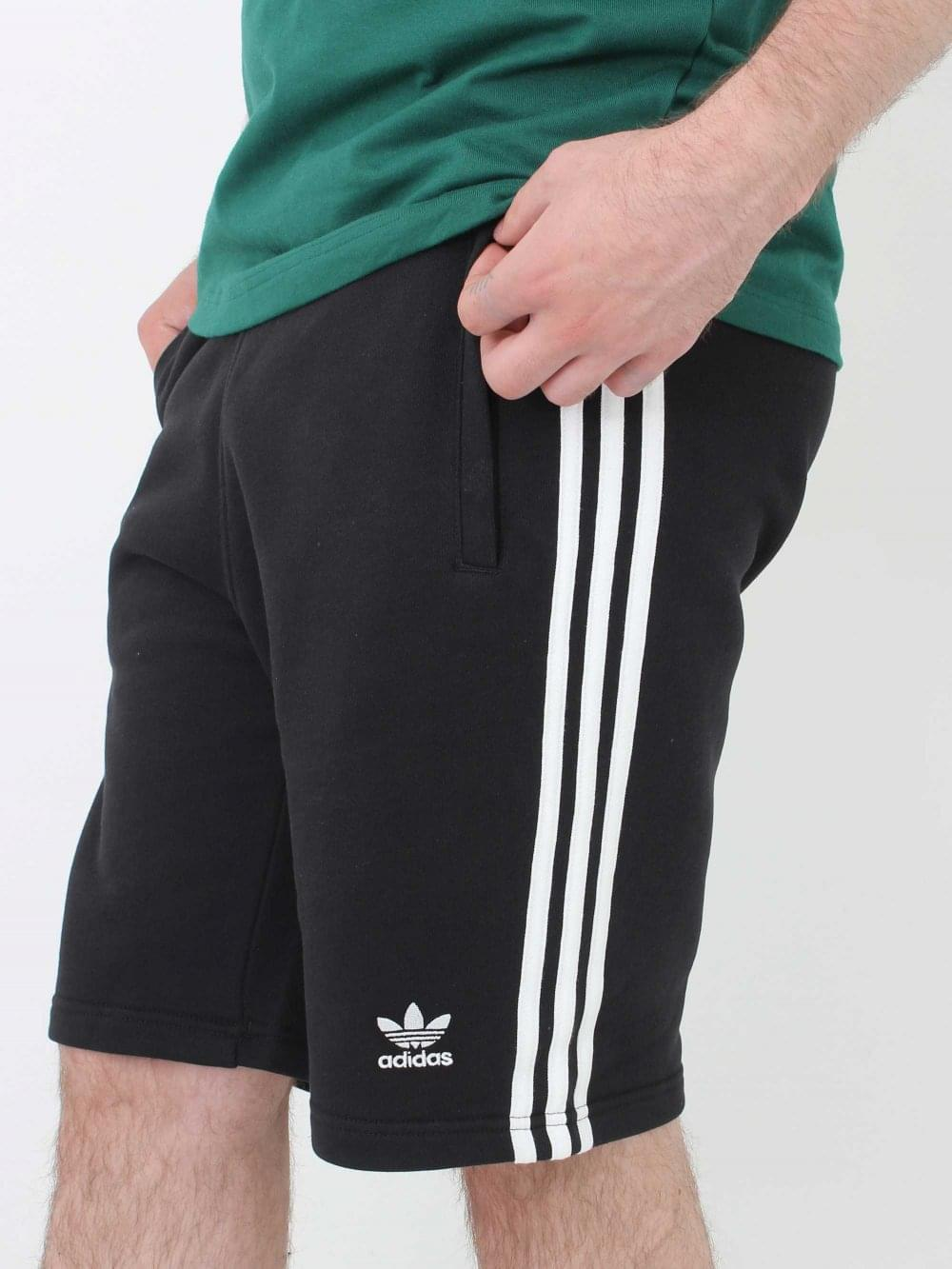Adidas 3 Stripe Short in Black | Northern Threads