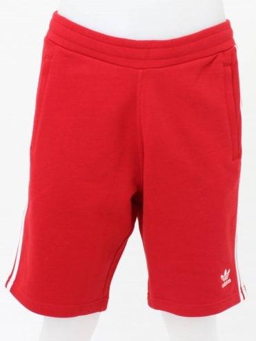 6de3a97c0e 3 Stripe Shorts - Power Red · adidas Originals ...