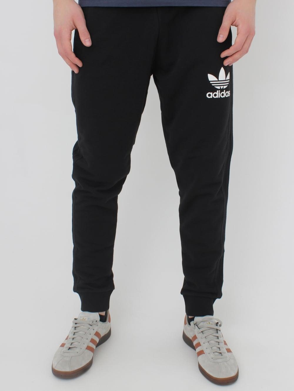 f2c96a33 3 Striped Pant - Black