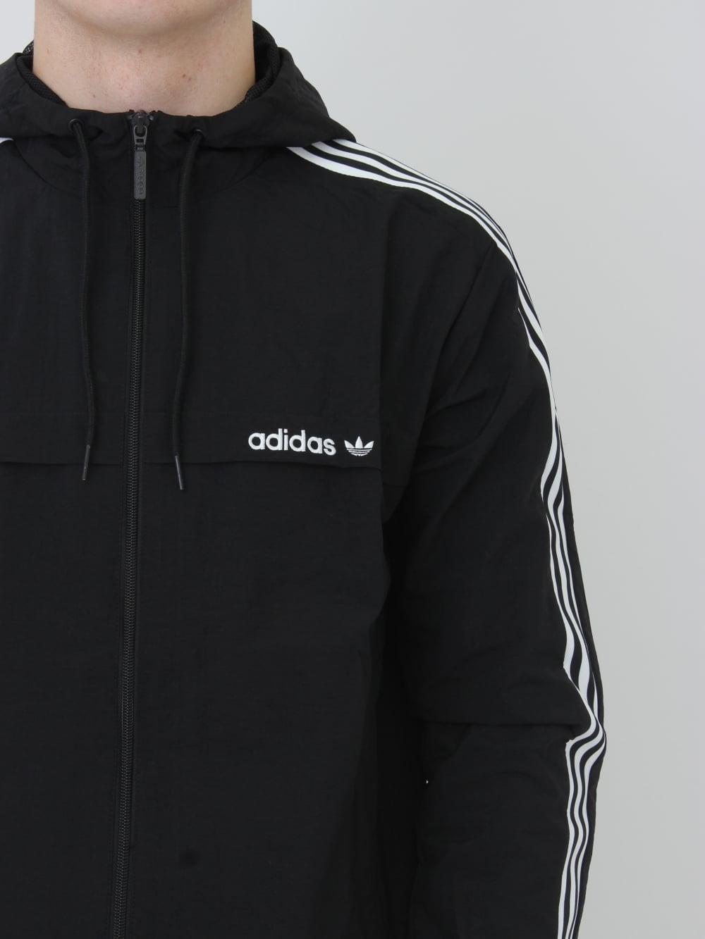 adidas originals windbreaker black