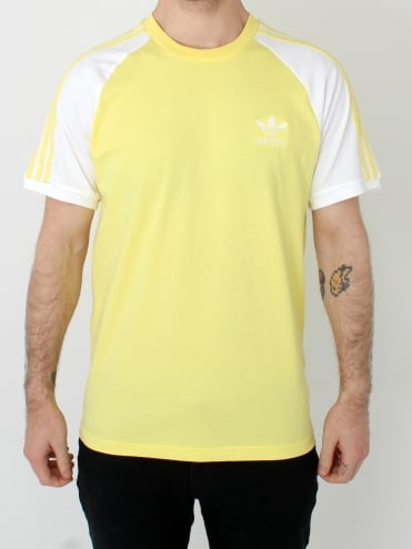 3 Stripes T.Shirt - Lemon