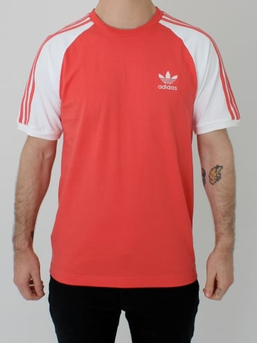 3 Stripes T.Shirt - Scarlet