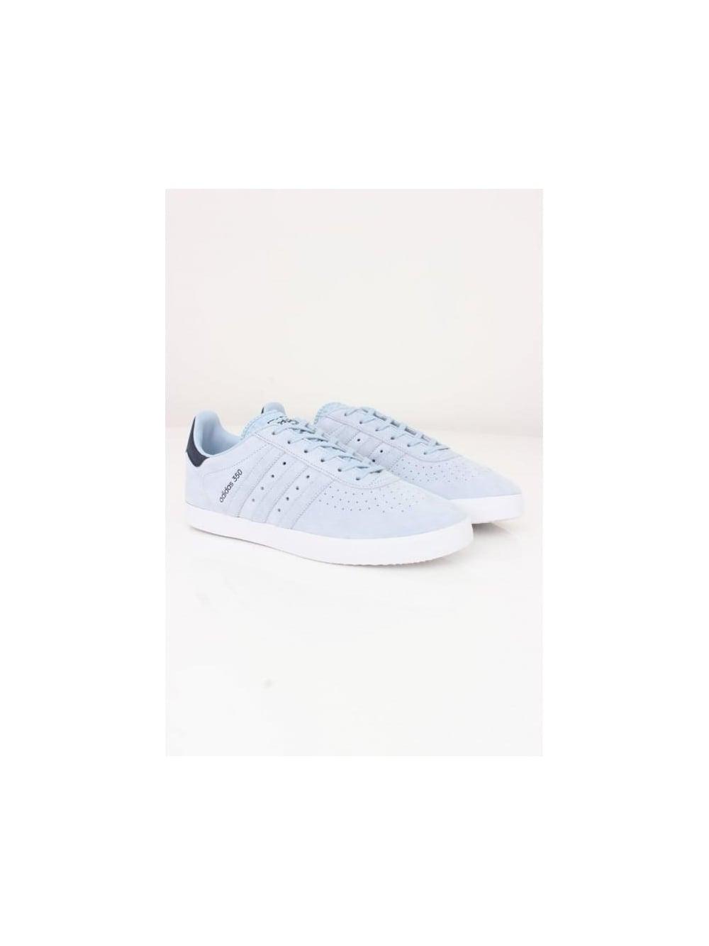 089388ffd adidas Originals 350 Trainers In Blue - Northern Threads