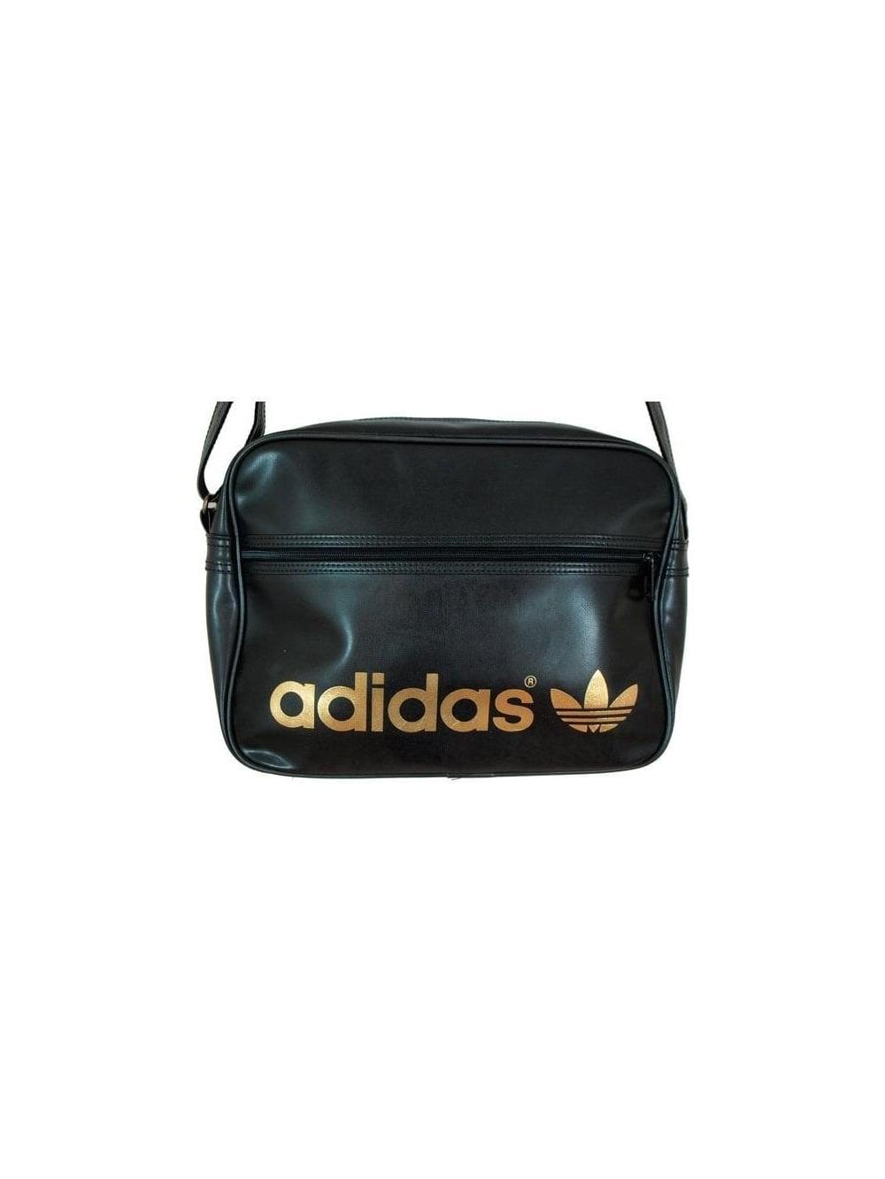 Adidas Originals AC Airline Bag in Black Metal - Shop Adidas ... 54147b707c658
