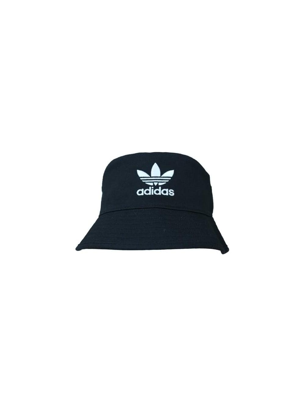 adidas Originals AC Bucket Hat in Black - Northern Threads 83b3e557fd9