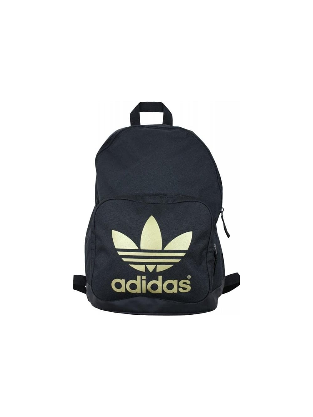 1c3d0d36d4947 Adidas Originals AC Classic Backpack in Black Gold - Northern Threads