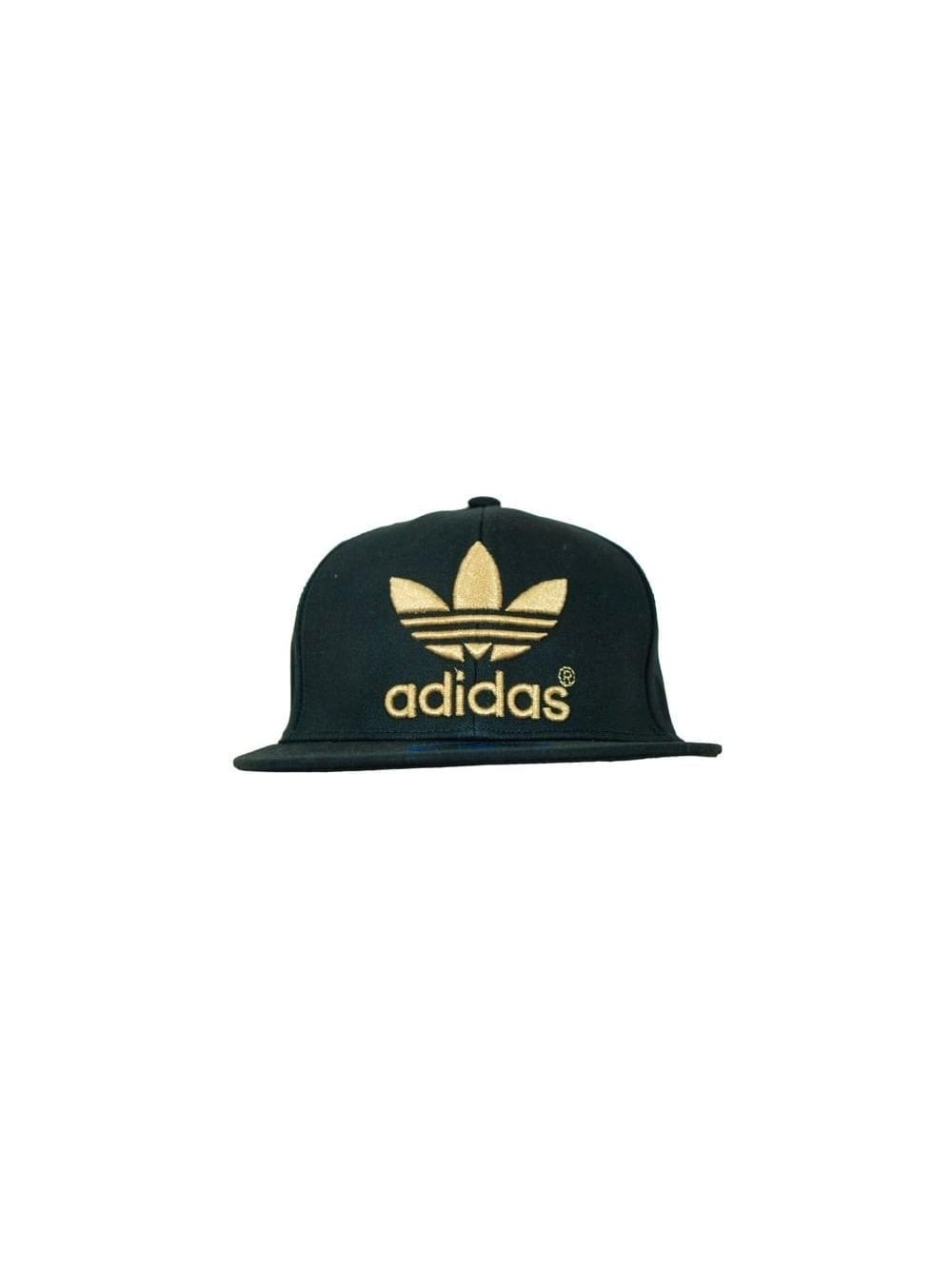 Adidas Originals AC Flatbrim Cap in Black Metal - Northern Threads 6ba486392cc