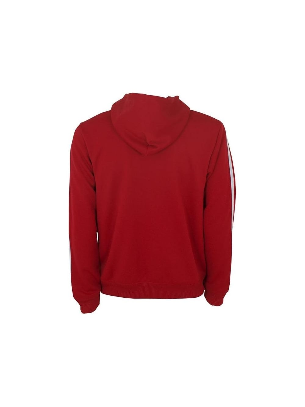 6e8c3442850a1a Adidas Adi Hooded Flock Track Top in Red White - Shop Adidas ...