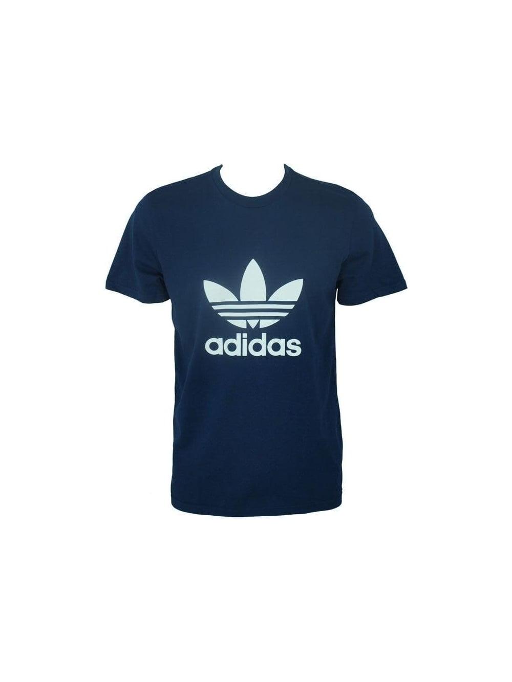 T shirt T Adi Blu Shirt Trefoil 6tdwdgCq