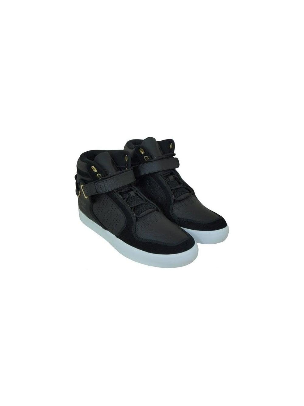 Adidas Originals Adirise Mid Trainers in Black - Shop Adidas ... df0c542fc