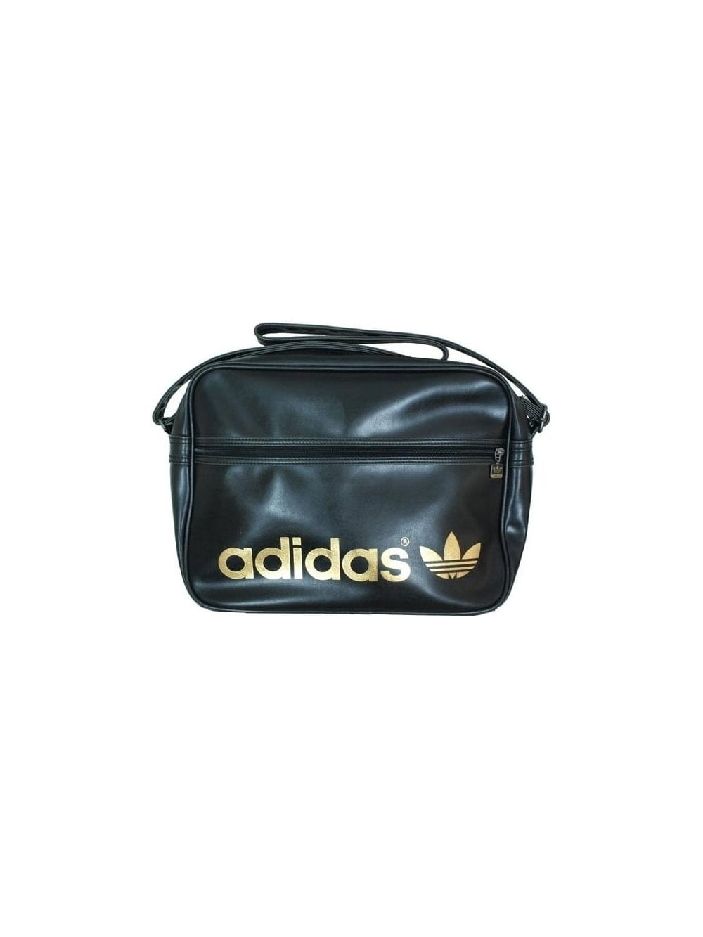 17eacd5d3f Mens adidas Originals Airline Bag - Black/Gold | SALE | Buy Online UK