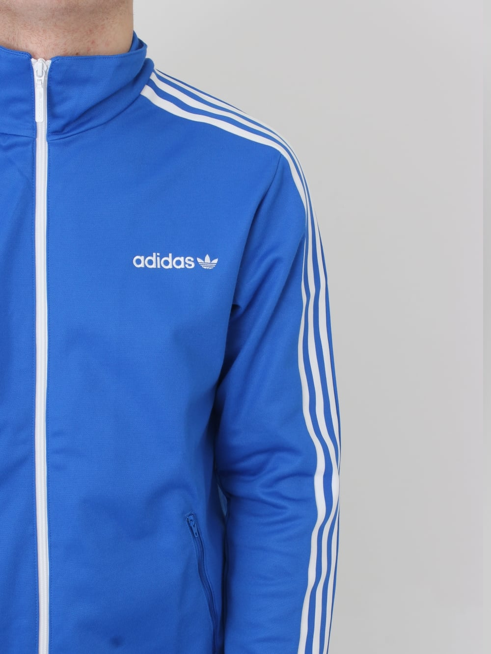 8dc477c64385b8 adidas BB Tracktop in Blue - Northern Threads