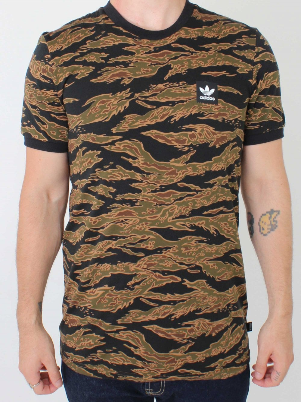 b1108af08841e2 Adidas Camo AOP T-Shirt in Camo | Northern Threads
