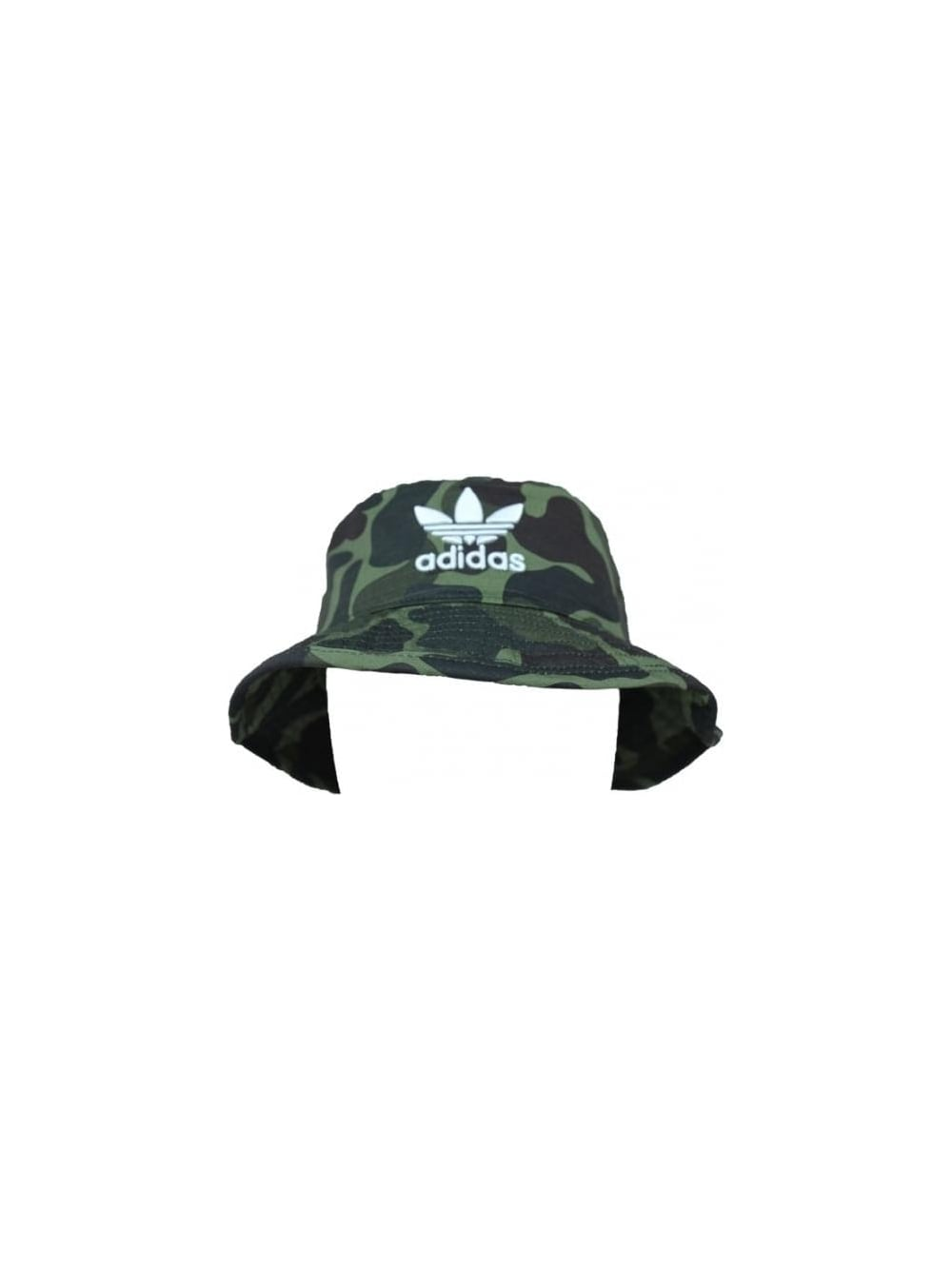 bdc79d65609 adidas Originals Camo Bucket Hat in Multi - Northern Threads