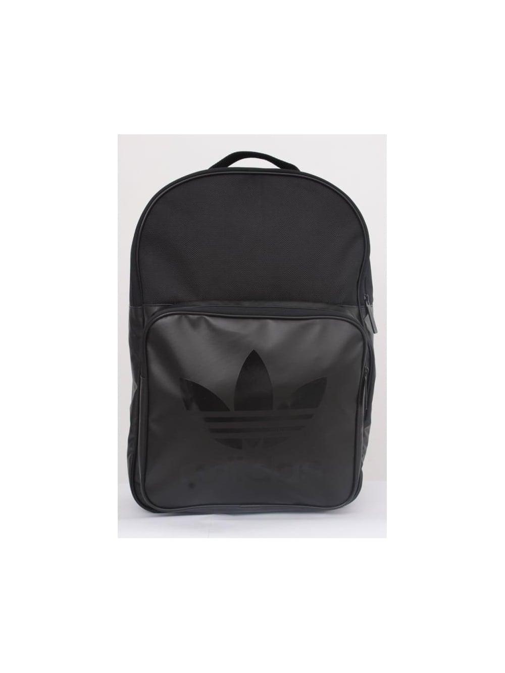 adidas Originals Classic Backpack in Black - Northern Threads ae6ddeb55b450
