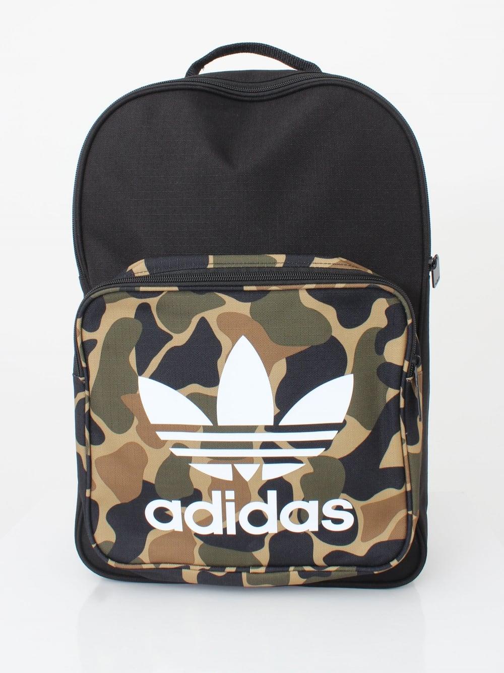 472efe0e2300 adidas Originals Classic Camo Backpack in Mulit