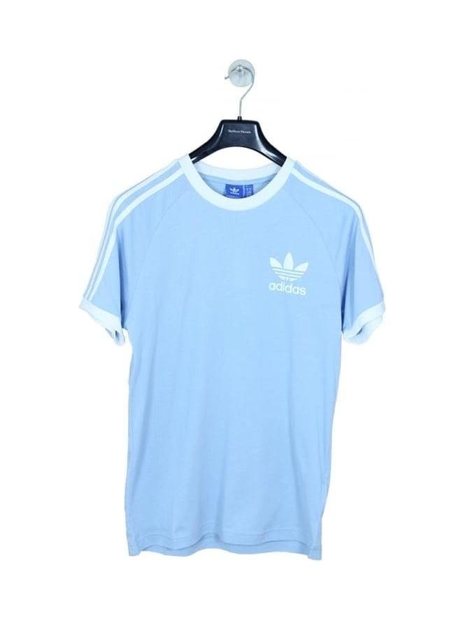 adidas originals california t shirt blue