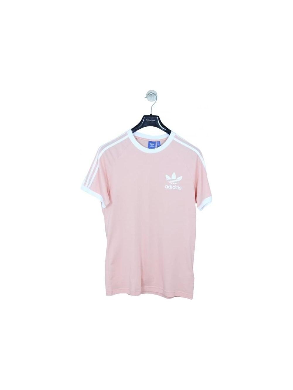 adidas originals california t shirt pink