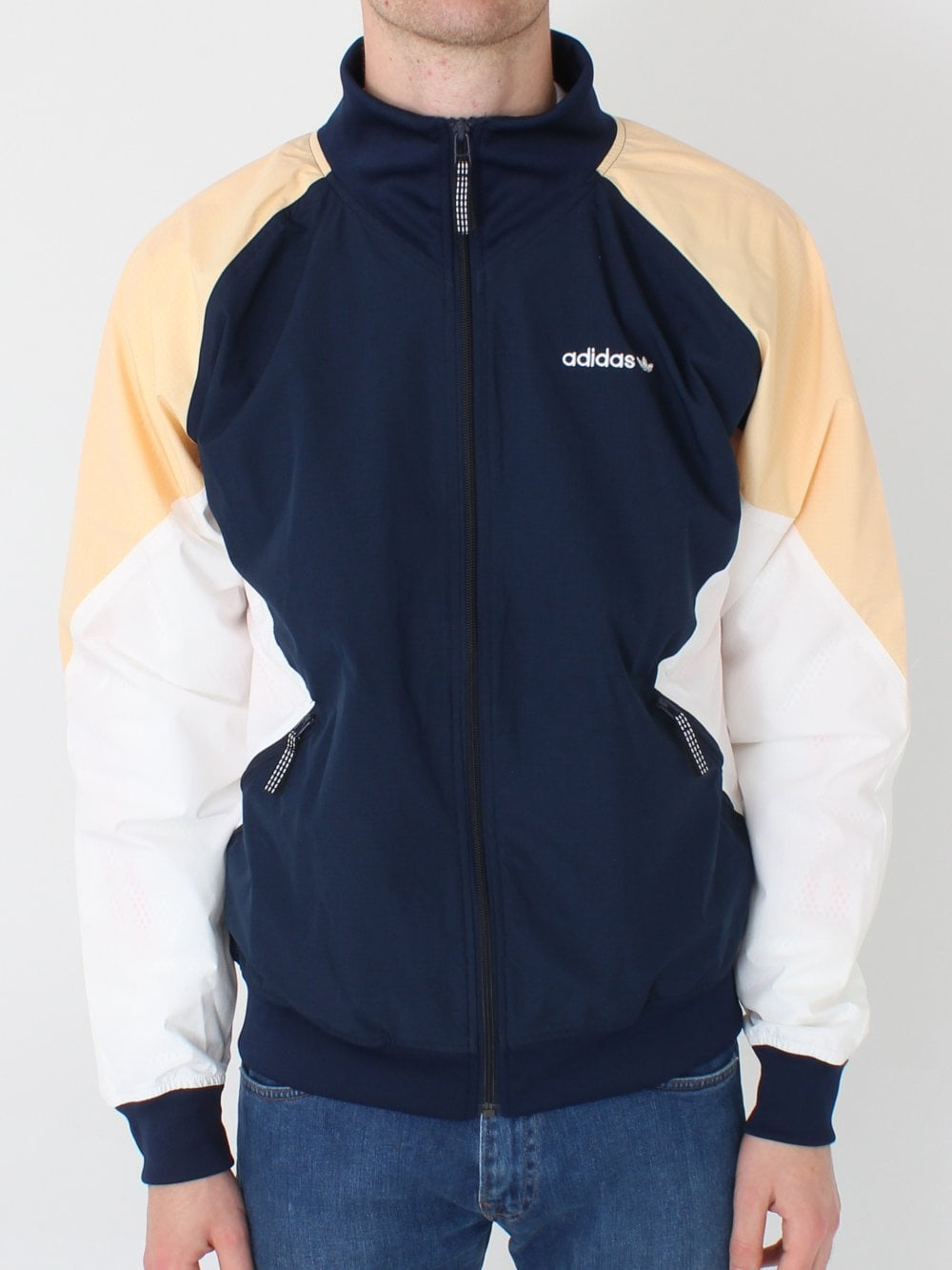 89b057133966 Adidas EQT Polar Jacket in Navy