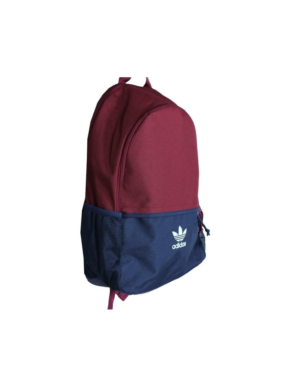 adidas originals Essentials Backpack in Burgundy - Northern Threads f5fae6912d