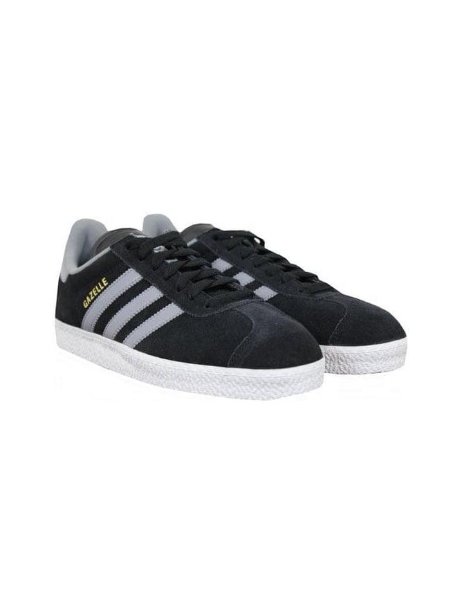 85d704cc5881 Adidas Gazelle 11 in Black Grey - Northern Threads