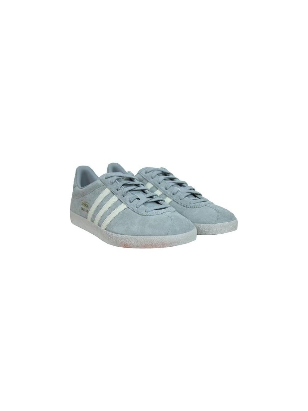 Tengo una clase de ingles barbilla Fuente  Adidas Gazelle OG in Grey/White - Northern Threads