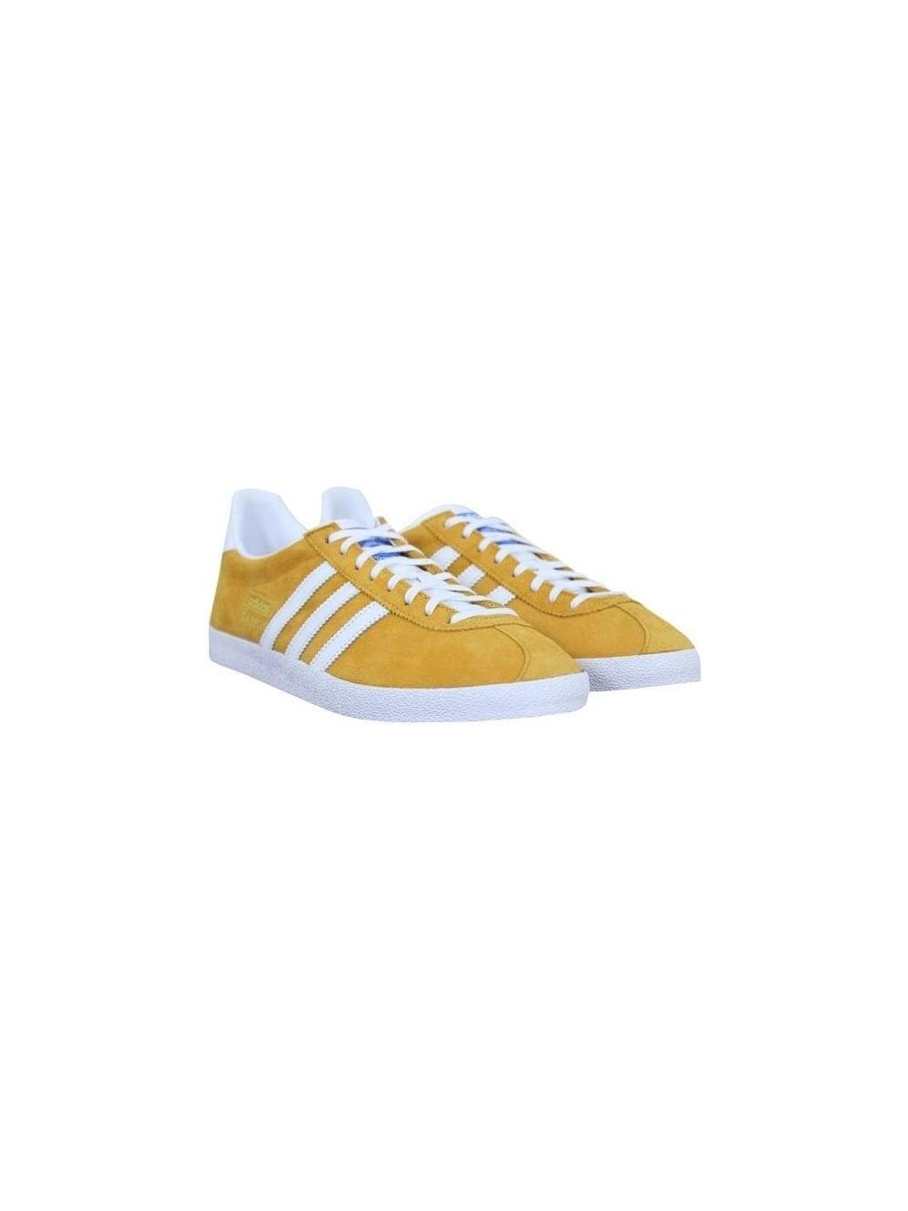 Gazelle OG Trainers - Gold/White