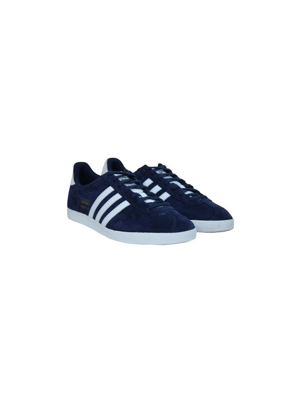 6142f34a6074 Adidas Gazelle OG Trainer in Indigo White - Northern Threads