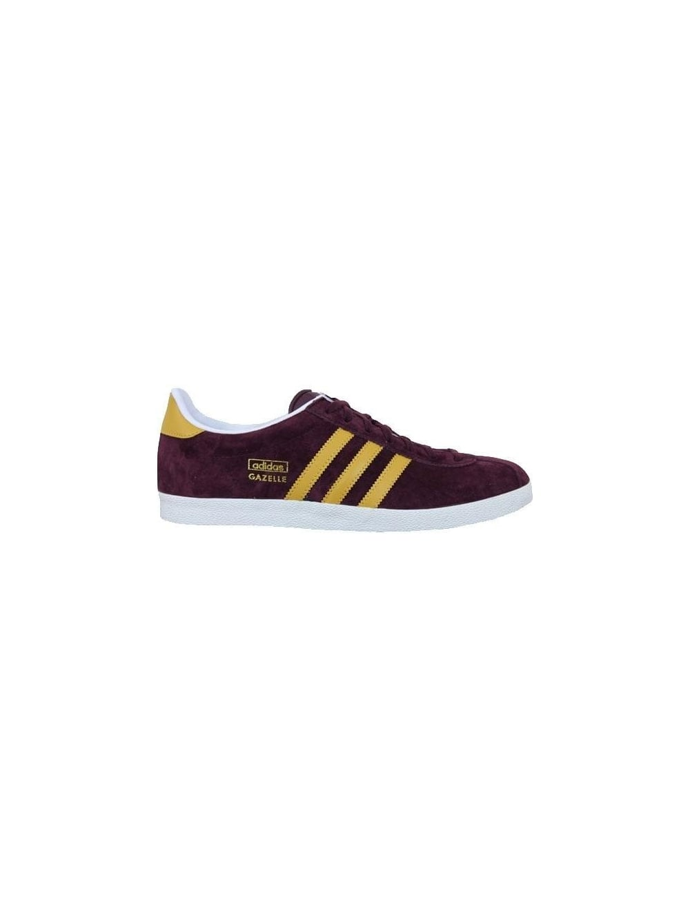 separation shoes 7a920 533cc Gazelle OG Trainers - Maroon Gold