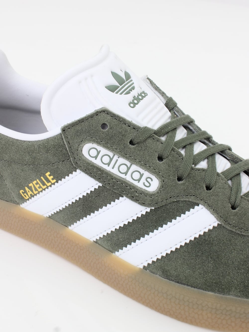 cd6145bc14a8 Home · Footwear · Trainers  Adidas Originals Gazelle Super - St  Major White. Tap image to zoom. Gazelle Super - St Major White