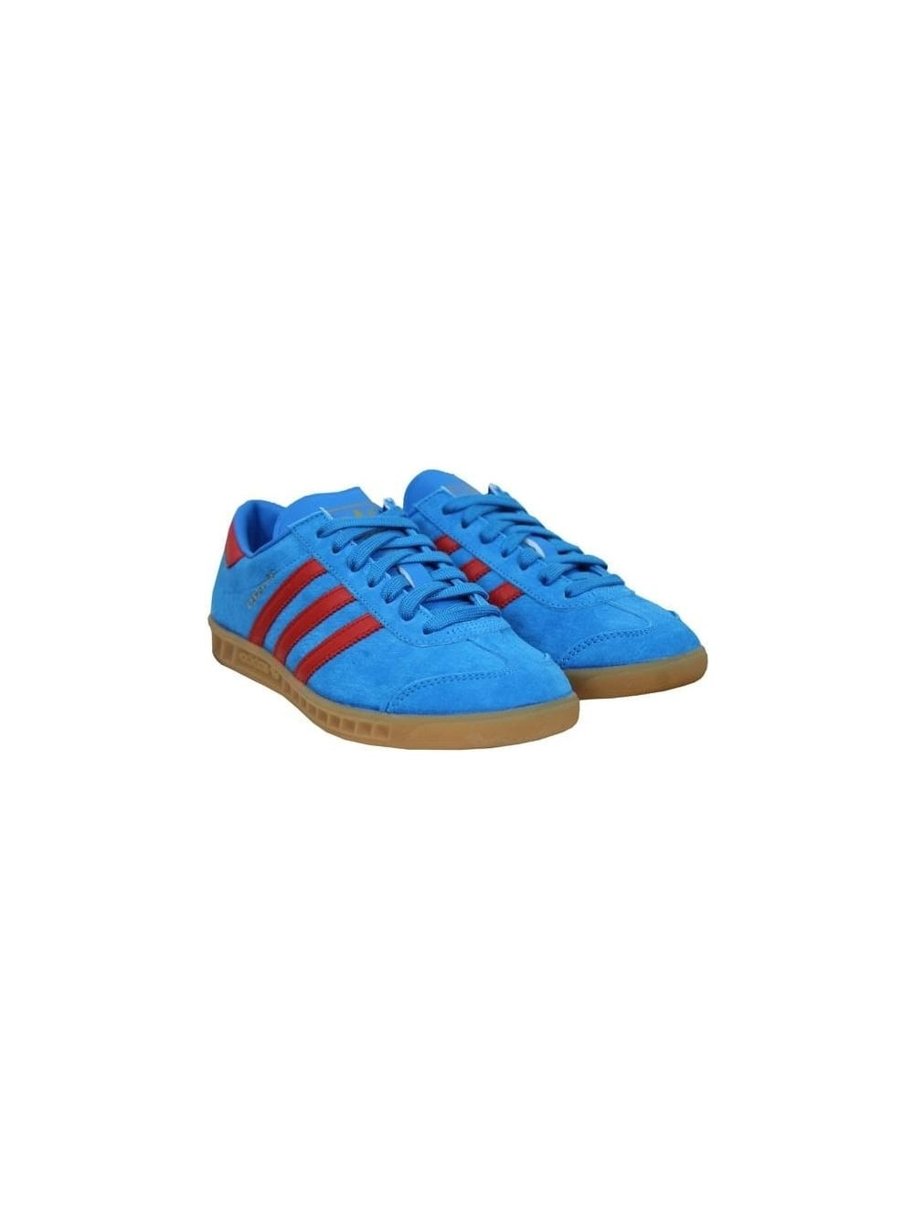aplausos Hambre Pais de Ciudadania  adidas Hamburg in Solar Blue - Northern Threads