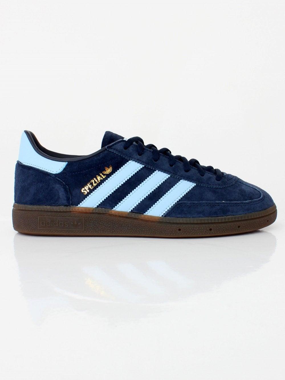 d0a2bff7851 Mens adidas Originals Handball Spezial - Navy Sky Gum