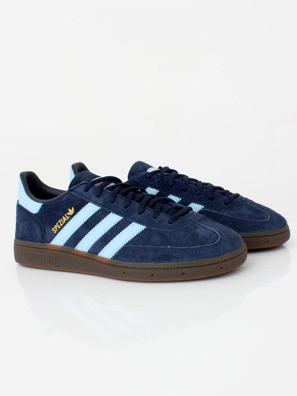 4999de6593 adidas Originals Handball Spezials in Navy/Sky/Gum