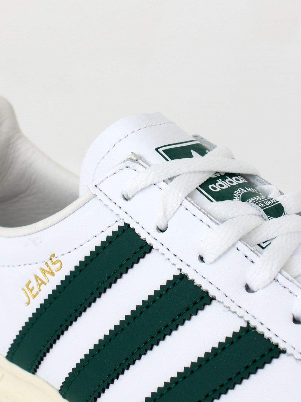 Adidas Jeans White/Green