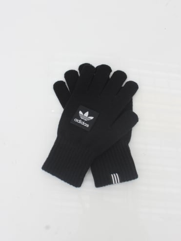 Logo Gloves - Black
