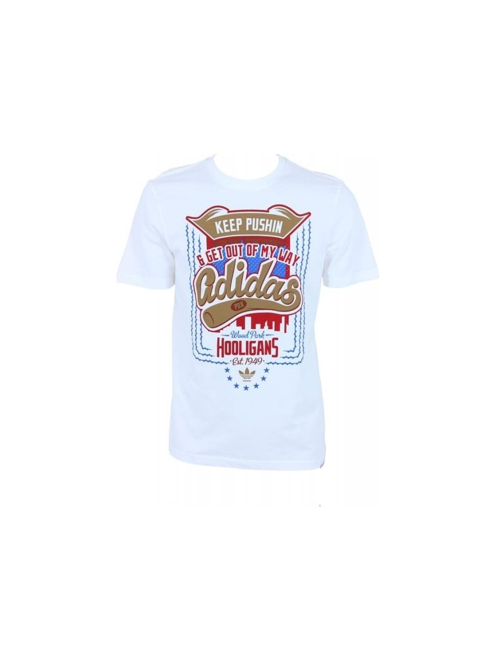 Major League T.Shirt White