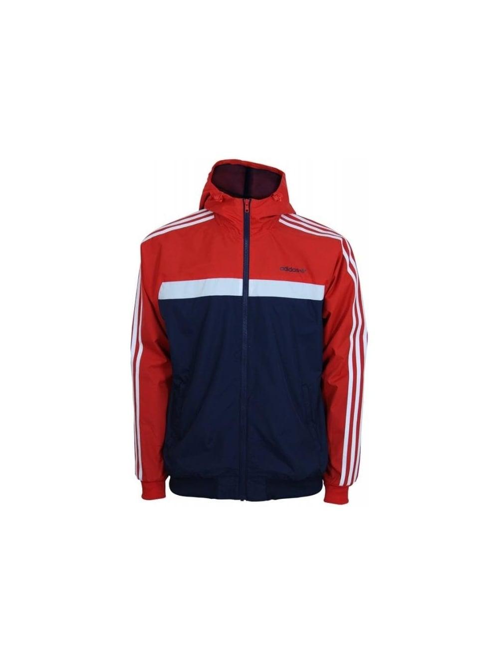 5b703dbcdc228 Adidas Originals Marathon 83 Windbreaker in Red - Northern Threads
