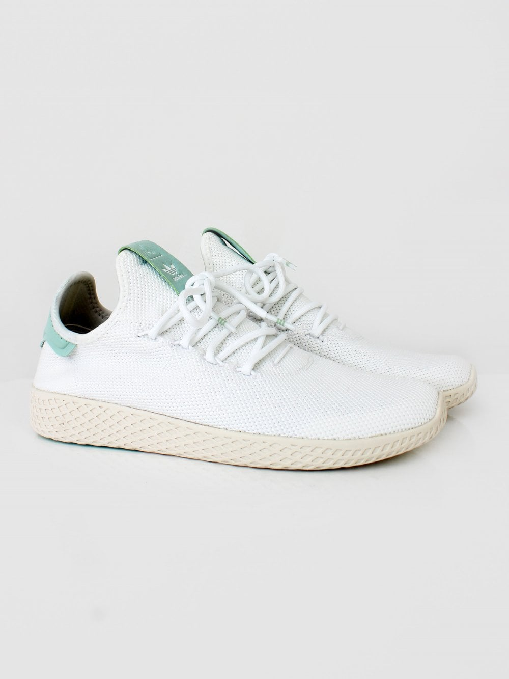 9e3d1be0f3163 Mens adidas Originals Pharrell Williams Tennis HU Trainer - White ...